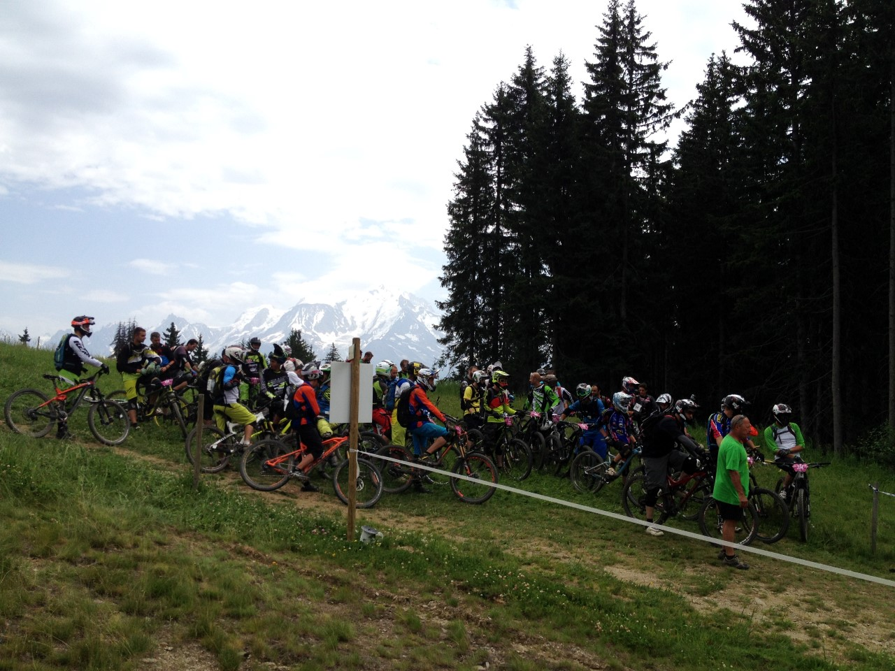 MB Enduro Race Combloux 2015